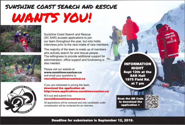 SCSAR Recruit